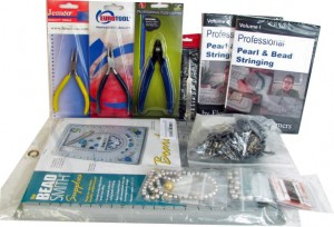 Professional Pearl & Bead Stringing Supply Kit