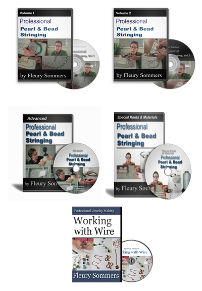 Pearl and Bead Stringing DVDs and Bonuses
