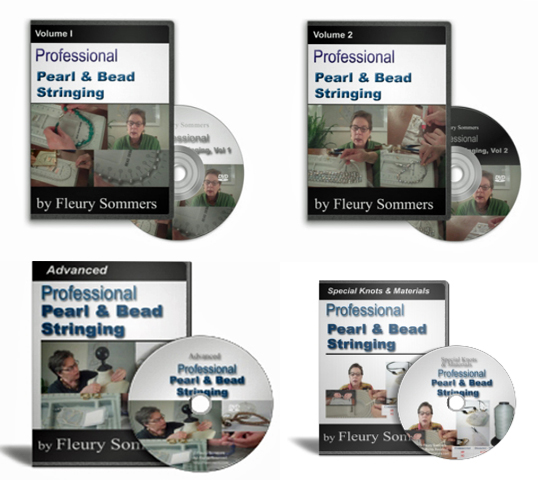 Professional Pearl & Bead Stringing DVDs