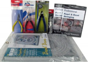 Pearl & Bead Stringing Supply Kit - Tools