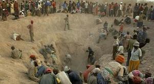 Marange alluvial mining (from BBC)