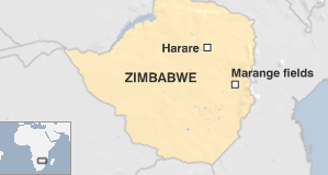 Marange Field, Zimbabwe (from BBC)