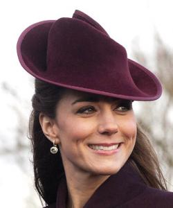 Kate Middleton X-Mas Earrings