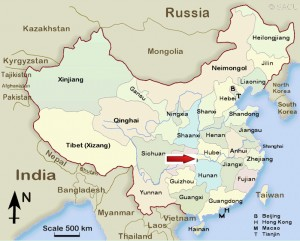 China Freshwater Pearl Producing Provinces