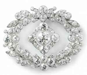 Cartier Platinum Brooch