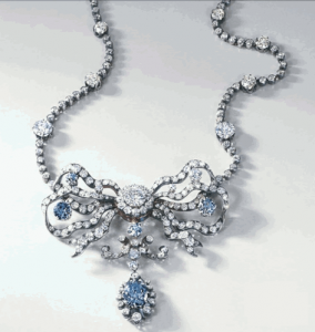 Cullinan Diamonds Set in Silver