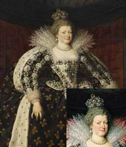 Marie de Medici with Beau Sancy