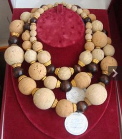 Alexis Kirk Cork Necklace