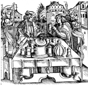 Medieval Therica Vendors