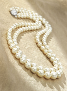 Double Strand Natural Pearls