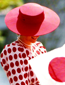 """Diana in """"Rising Sun"""" Dress"""