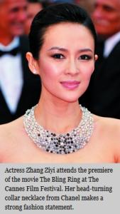 Chanel pearls, courtesy Style Magazine
