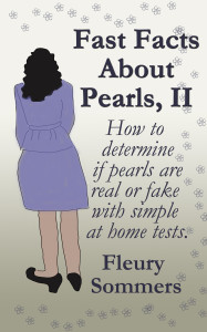 How to Determine if pearls are real or fake with simple at home tests.