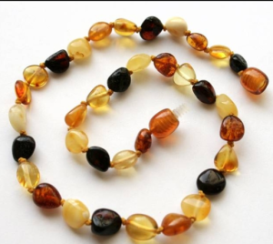 """Baltic Amber"" Teething Necklace"