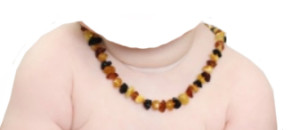 Baby with Amber Necklace